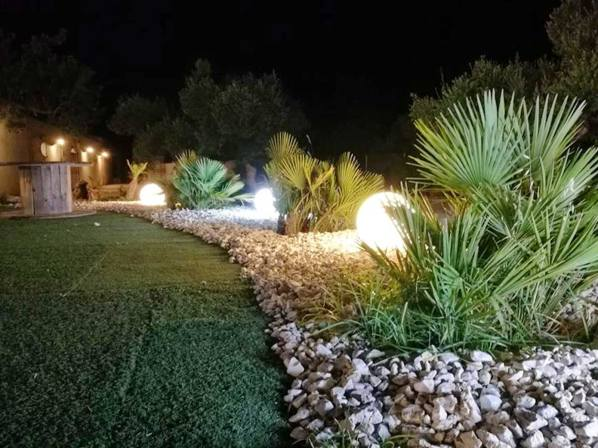 Light up your lawn with beautiful outdoor lighting