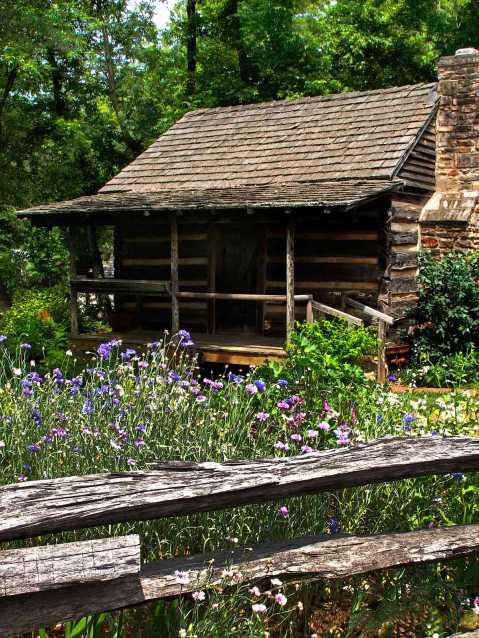 Buford GA log cabin