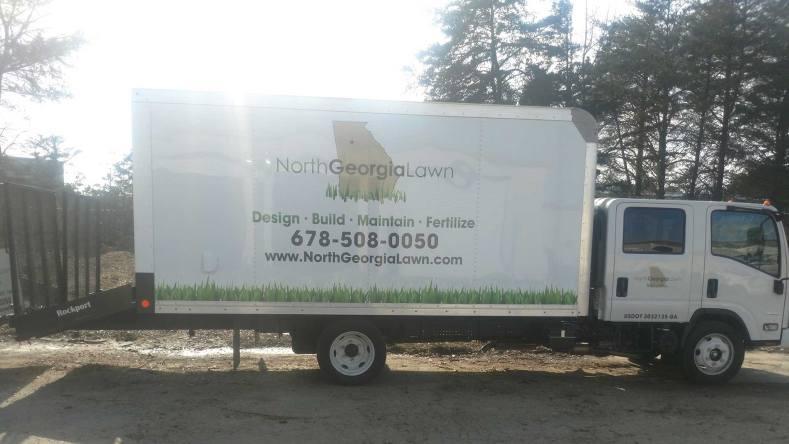north georgia lawn truck