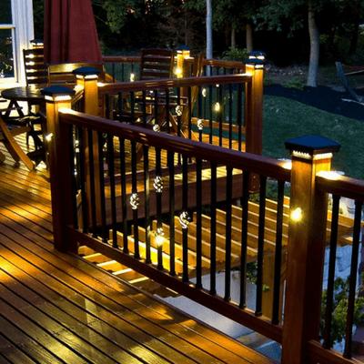 post cap deck light